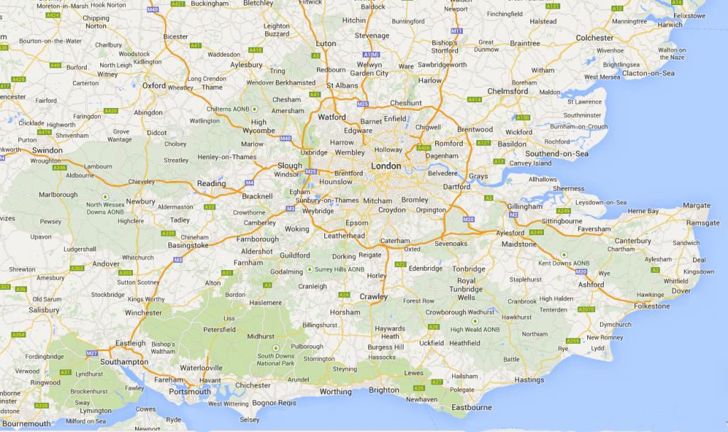 southeast-map